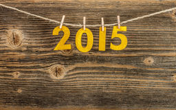 Nowy rok 2015 Zdjęcia Royalty Free