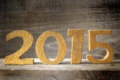 Nowy rok 2015 Fotografia Stock