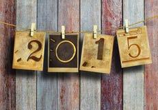 Nowy rok 2015 Obrazy Stock