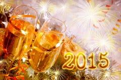 Nowy rok 2015 Obrazy Royalty Free