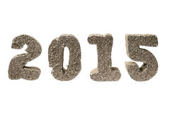 Nowy rok 2015 Zdjęcie Stock