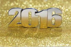 Nowy rok 2016 Zdjęcia Stock