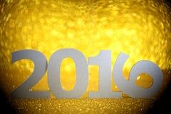 Nowy rok 2016 Obrazy Stock