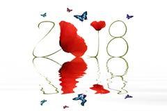 Nowy rok 2018 Obraz Stock