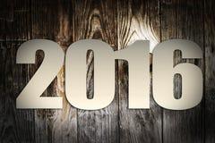 2016 nowy rok Fotografia Royalty Free