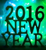 2016 nowy rok Obraz Royalty Free