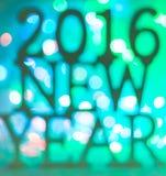 2016 nowy rok Zdjęcie Stock