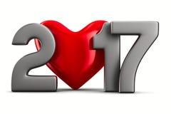 2017 nowy rok Obraz Stock