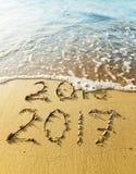 Nowy rok 2017 Zdjęcie Royalty Free