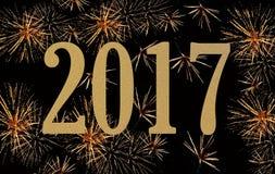 Nowy rok 2017 Obraz Stock