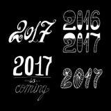 2017 - Nowy rok Zdjęcie Royalty Free