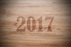 Nowy rok 2017 Zdjęcie Stock