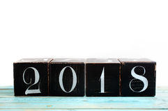 Nowy rok 2018 Zdjęcia Royalty Free