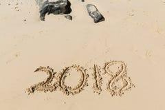 2018 nowy rok Fotografia Stock