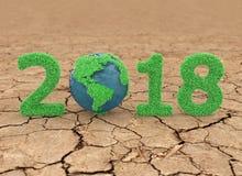 Nowy rok 2018 Obraz Royalty Free
