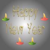 nowy rok, royalty ilustracja