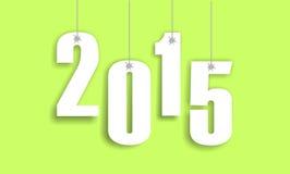2015 nowy rok Zdjęcia Royalty Free