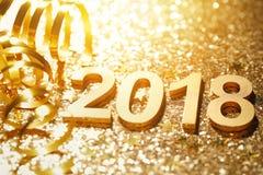 Nowy rok 2018 Obrazy Royalty Free