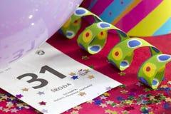 2015 nowy rok abstrakt z kalendarzem Zdjęcia Stock