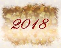 2018 nowy rok abstrakta tło ilustracji