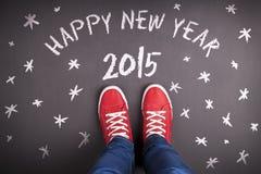 Nowy rok bożych narodzeń pojęcie Obrazy Stock