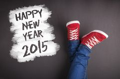 Nowy rok bożych narodzeń pojęcie Obrazy Royalty Free