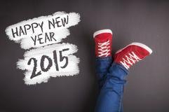 Nowy rok bożych narodzeń pojęcie Obraz Stock