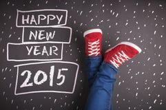 Nowy rok bożych narodzeń pojęcie Obraz Royalty Free