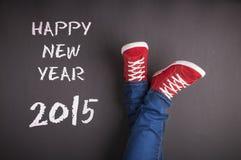 Nowy rok bożych narodzeń pojęcie Fotografia Stock