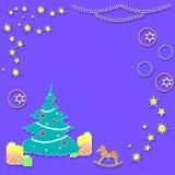 Nowy rok, boże narodzenia Obrazy Royalty Free