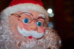 Nowy rok, boże narodzenia, wakacje, zima wakacje, Sant Fotografia Royalty Free