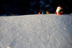 nowy rok, Bożenarodzeniowa zima Fotografia Royalty Free