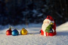 nowy rok, Bożenarodzeniowa zima 29 Obraz Stock