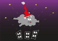 nowy rok, Cakle wektor Royalty Ilustracja