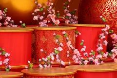 Nowy rok chińska scena zdjęcia stock