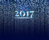 Nowy rok cząsteczki projekt Obraz Stock