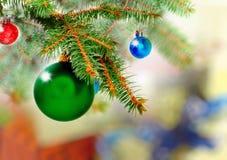 Nowy Rok dekoracja. Zdjęcie Royalty Free