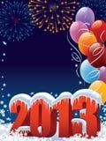 Nowy Rok dekoracja Obrazy Royalty Free