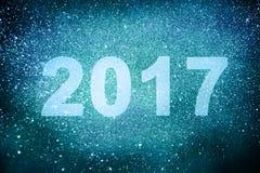 Nowy rok dekoracja, zbliżenie na złotych tło Fotografia Royalty Free