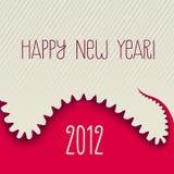 Nowy Rok Dino Fotografia Stock