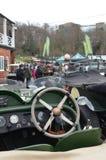 2016 nowy rok dnia zgromadzenie klasyczny samochód przy Brooklands Zdjęcie Stock