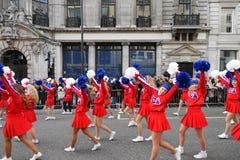 Nowy Rok dzień parady w Londyn. Obrazy Royalty Free