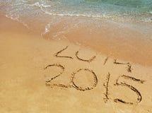 Nowy rok 2015 jest nadchodzącym pojęciem Zdjęcia Royalty Free