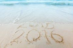 Nowy Rok 2016 jest nadchodzącym pojęciem Zdjęcia Royalty Free