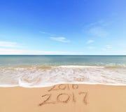 Nowy Rok 2017 jest Nadchodzącym pojęciem Obraz Stock