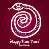 Nowy Rok Karta Obraz Royalty Free