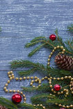 Nowy rok lub boże narodzenia tapetowi Obrazy Stock