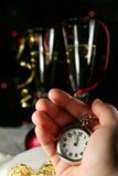 nowy rok nadchodzący Zdjęcie Stock