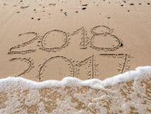 nowy rok nadchodzący Zdjęcia Royalty Free