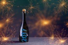 2017 nowy rok pojęcie Obrazy Stock